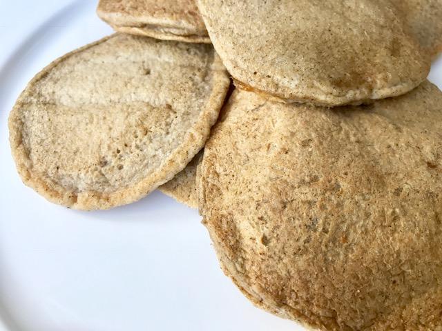 Banana Pancakes - Flourless, vegan, gluten free