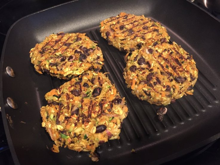 gluten free and vegan veggie burger for plant-based living