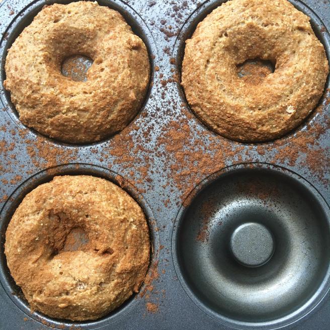 gluten free, vegan, paleo doughnut