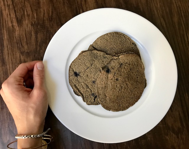 Grain Free Blueberry Buckwheat Pancakes - Welli - gluten free, vegan, paleo and no sugar added