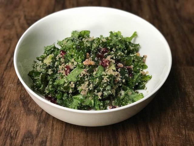 Kale & Quinoa Salad - Paleo, Gluten Free, Grain Free, Vegan
