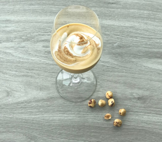 Fall in love with this Pumpkin Hazelnut Smoothie