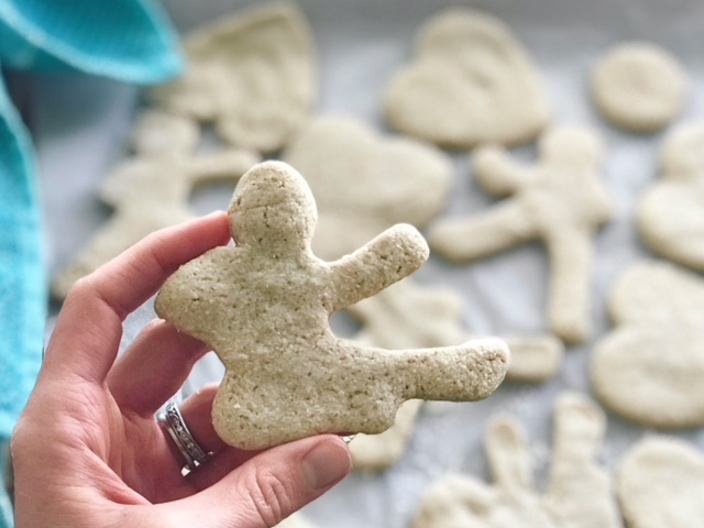 Sugar Less Cookies by Kristine with Welli - gluten free, vegan, flourless