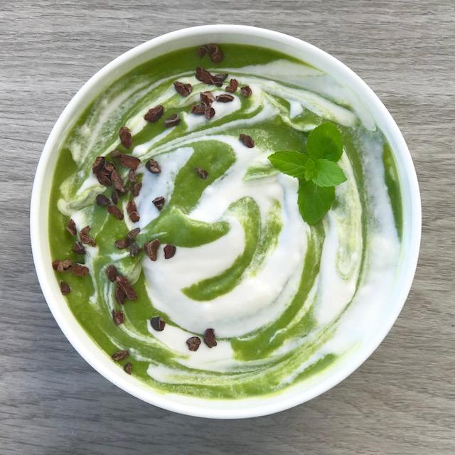 A Better for You Shamrock Shake - www.getWelli.com - paleo, vegan, keto, sugar free, gluten free, grain free