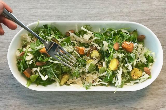 Vegan Caesar Salad - www.getWElli.com - vegan, grain free, paleo