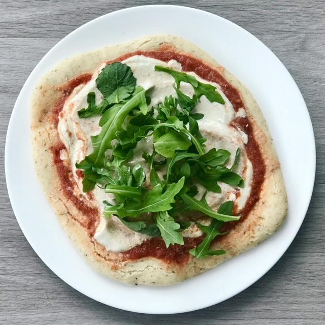 Grain free flatbread - www.getWelli.com - #getWelli #vegan #paleo #glutenfree