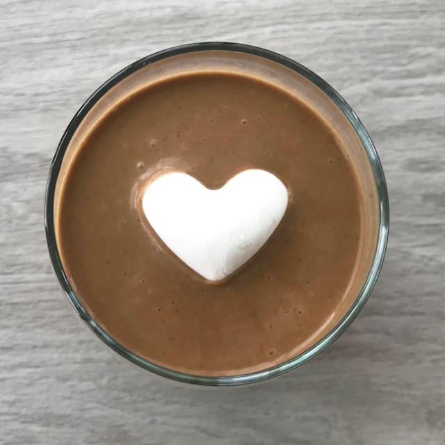 Chaga Morning Smoothie - www.getWelli.com - #getWelli #vegan #smoothie #breakfast #chaga #reishi