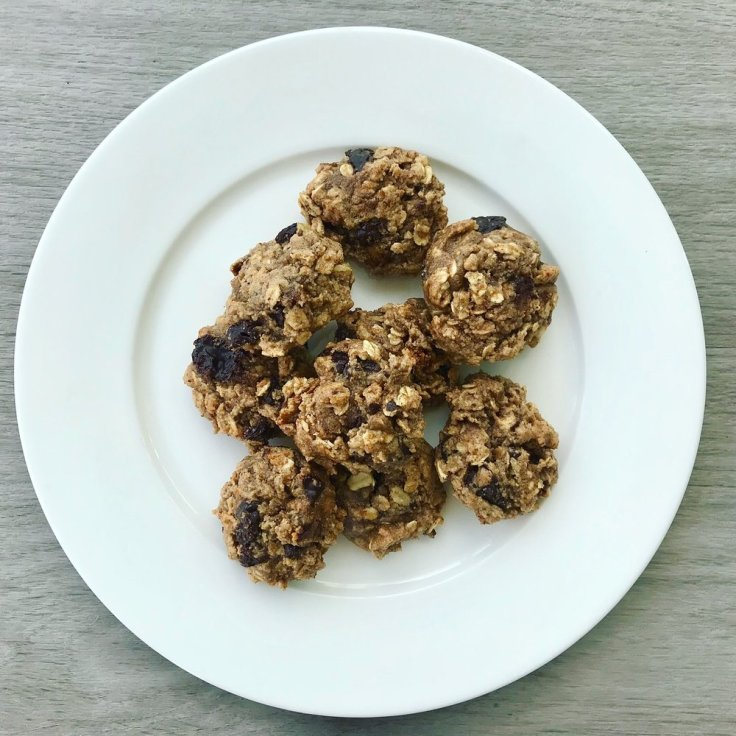 Tahini, Chocolate Chip & Fig Cookies - www.getWelli.com - #getWelli #vegan #glutenfree #vegetarian #cookies