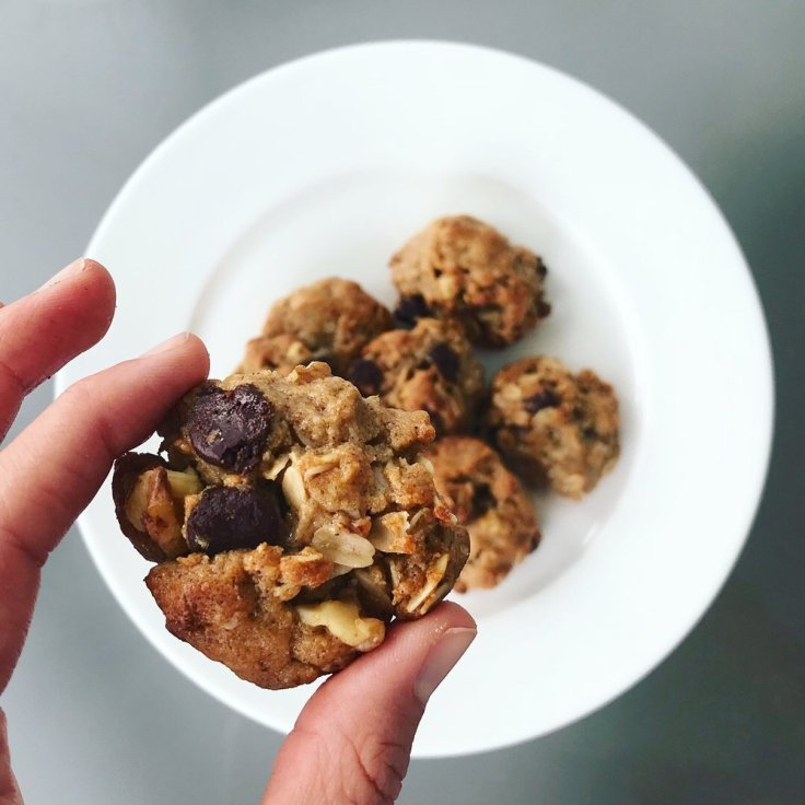 Peanut Butter Bourbon Honey Cookies - www.getWelli.com - #getWelli #vegetarian #grainfree #paleo #healthy