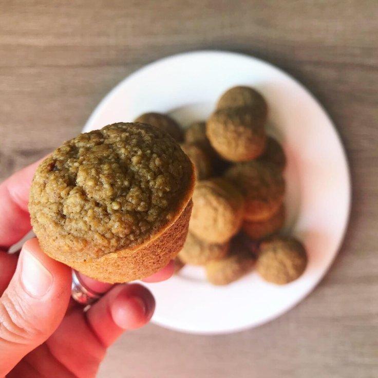 Pumpkin Spice Muffins - www.JoyfulGoodness.com - #JoyfulGoodness #vegan #glutenfree #paleovegan #dessert #breakfast #pumpkinspice #🎃