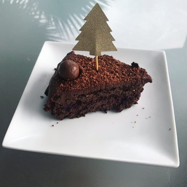 Chocolate Fudge (Sacher Torte Kuchen) - joyful goodness.com - #grainfree #vegan #glutenfree #paleo #German #cake #holidays