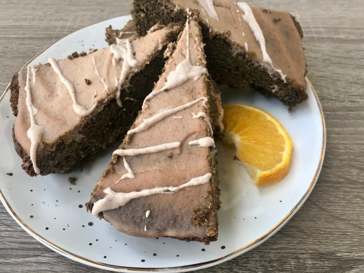 Orange Vanilla Protein Cake - JoyfulGoodness - #vegetarian #grainfree #glutenfree #paleo #keto #recipe