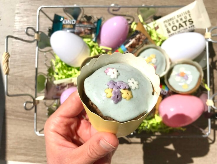 Joyful Goodness - Easter Palm Sunday - Chocolate Chip Cookie Cup - vegan paleo keto gluten free