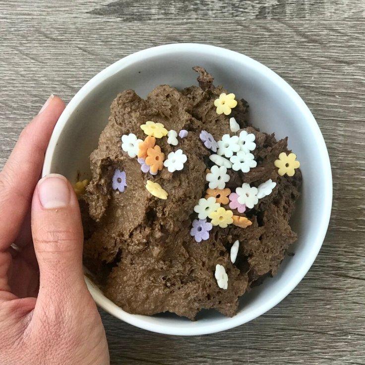 raw brownie batter   joyful goodness   raw   vegan   chocolate