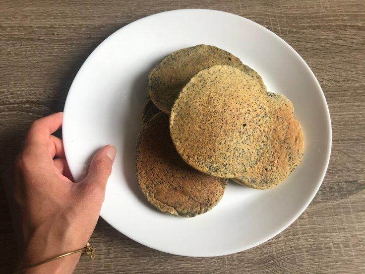 Orange Poppyseed Pancakes - JoyfulGoodness.com - gluten free - vegan - brunch