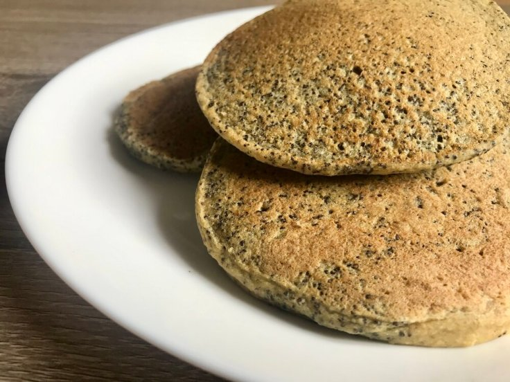 Orange Poppyseed Pancakes | www.JoyfulGoodness.com | gluten free | vegan | breakfast