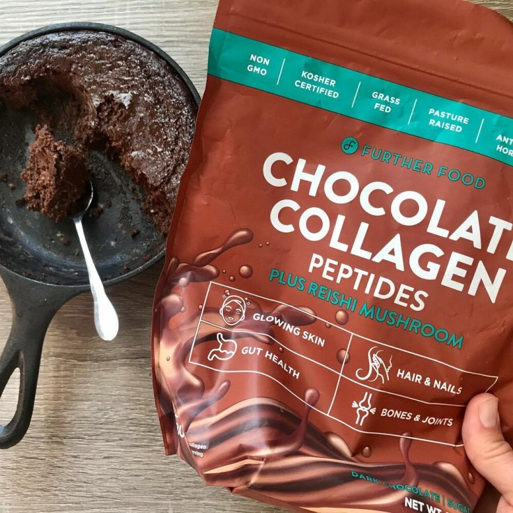 single serve skillet brownie | Joyful Goodness