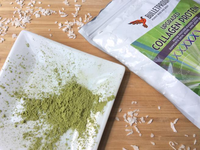 matcha green tea - gluten free vegan paleo keto